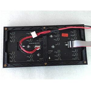 Image 4 - 64x32 matris LED işareti RGB P4 led modülü video duvar P2.5 P3 P4 P5 P6 P8 P10 kapalı ekran tam renkli ekran
