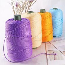 bulky yarn 230 grams of light viscose ice rope summer sun hat hand woven diy hook cushion hollow bright silk medium thick wool