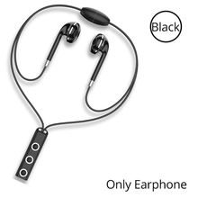 BT313 Bluetooth 4.1 Earphone Wireless Magnetic Neckband Earbuds Handsfree Sport Stereo Headsets with Mic for Mobile Phone