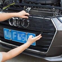 Lapetus przedni owad przesiewowe siatki przedni grill siatka ochronna pokrywa wykończenia Fit dla Audi A4 B9 2016 2017 2018 2019 akcesorium samochodowe