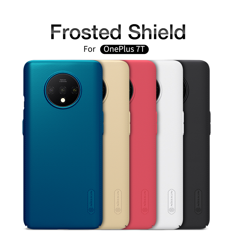 For oneplus 7T case Nillkin frosted shield PC hard plastic back protective cover For oneplus 7t phone case