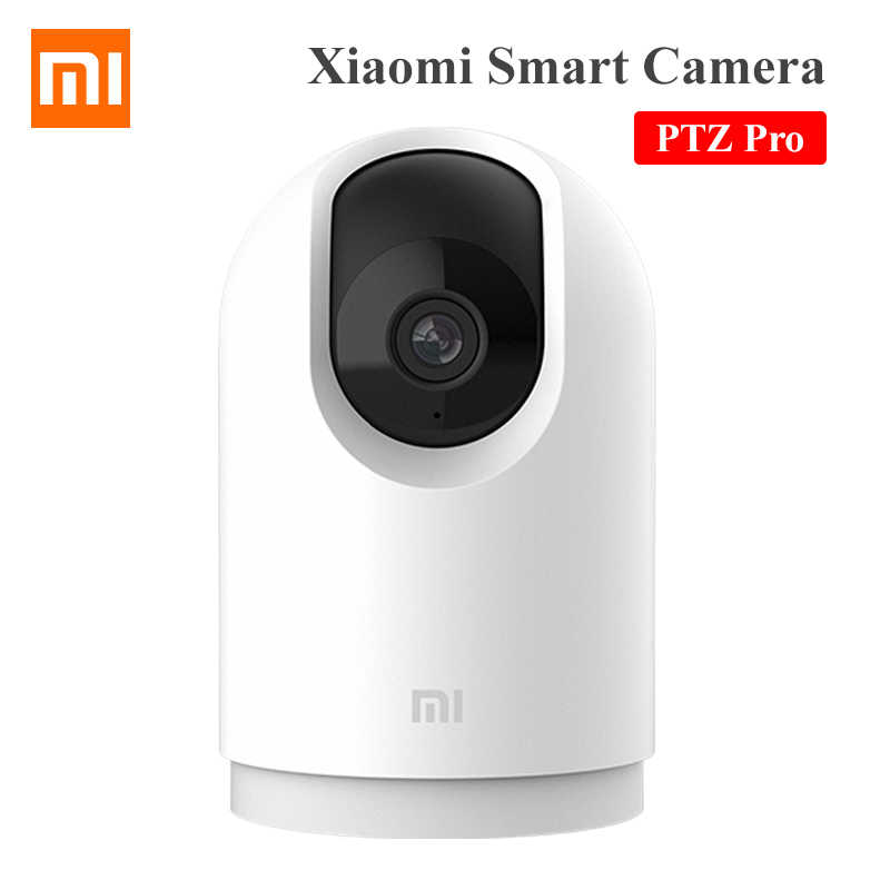 Xiaomi Smart Kamera PTZ Pro 360 Sudut 2K 1296P Bluetooth Gateway Build-In AI Pemantauan 2.4GHz/5G Hz Wi Fi IP Webcam Keamanan Rumah