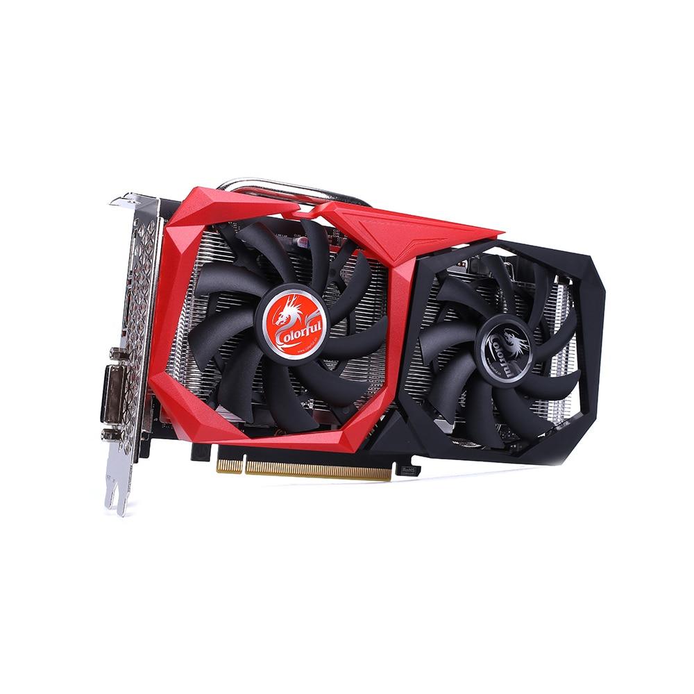 Image 4 - بطاقة رسومات GeForce GTX 1660 SUPER NB 6G ملونة بطاقة فيديو 1785 ميجاهرتز GDDR6 6 جيجابايت B192Bit تبديد الحرارة وحدة معالجة الرسومات للألعاببطاقات الرسومات   -