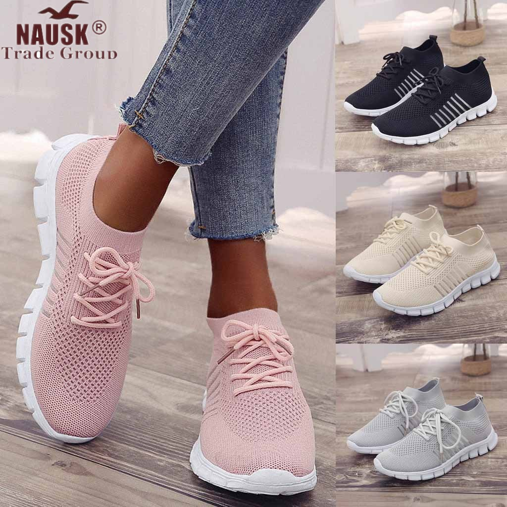 Women Casual Summer Autumn Sneakers Sport Shoes Ladies Casual Walking Vulcanized Sneakers Shoes 2019 Fashion Sneakers