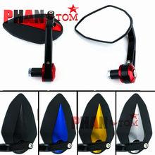 Motorcycle Mirror Handlebar Side Handle Bar Ends Mirror For YAMAHA R6 R1 MT 09 07 TMAX XMAX WR 125 250 DUKE 690 125 200 390