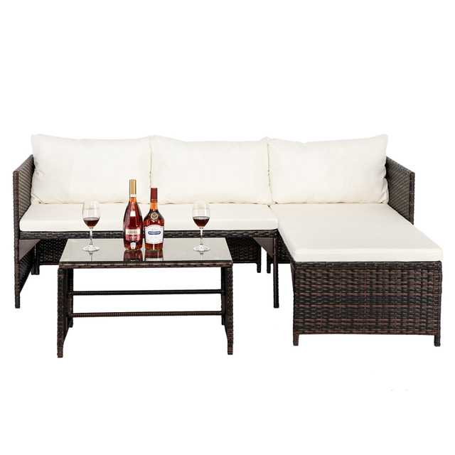 Sectional Patio Furniture Set 3