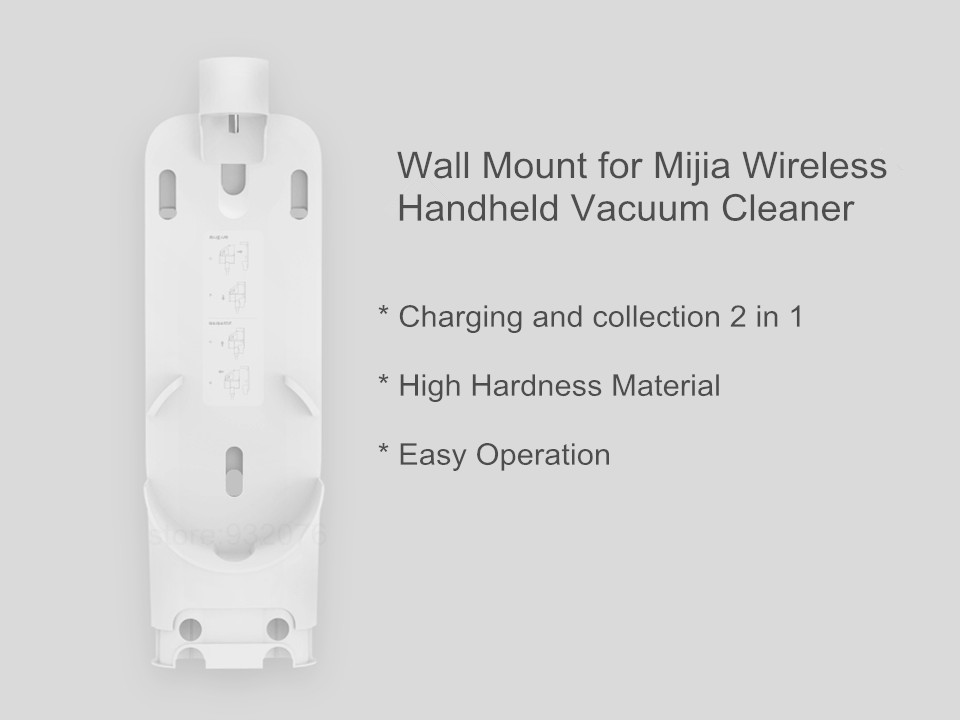 Image 2 - Xiaomi Wall Mount for MIJIA Handheld Wireless Vacuum Cleaner Charger Dock and Storage Holder 2 in 1-in Vacuum Cleaner Parts from Home Appliances