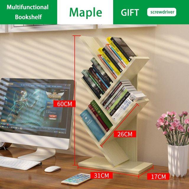 Creative Tree Shaped Bookshelf 4