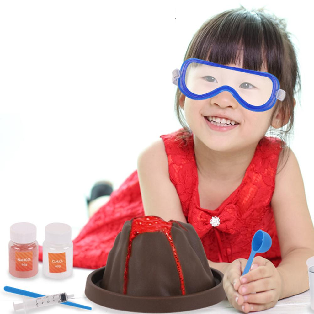 World Science Volcano Eruption Kit Experiment Game for Kids DIY Safe Toy Gift