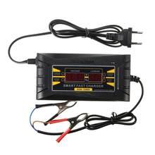 70% vendas quentes!!! 12v 6a carro automático lcd digital display inteligente pwm carregador de carregamento da bateria