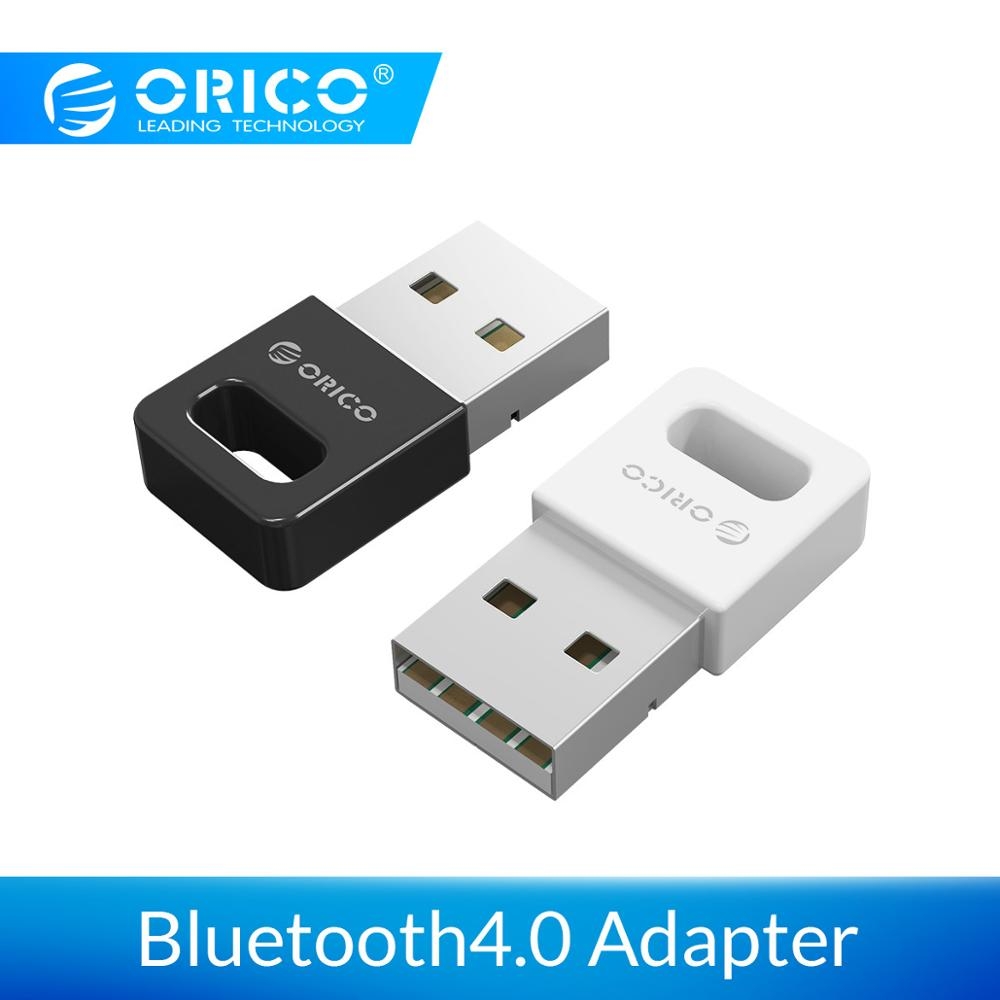 ORICO Mini Wireless USB Bluetooth Adapter 4.0 Dongle Music Sound Receiver Adapter For Windows XP Vista 7/8/10 Connect to Mouse