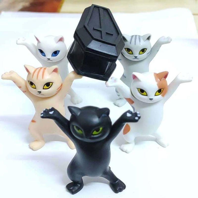 Cute Cat Pen Holders ( Without Coffin ) 3