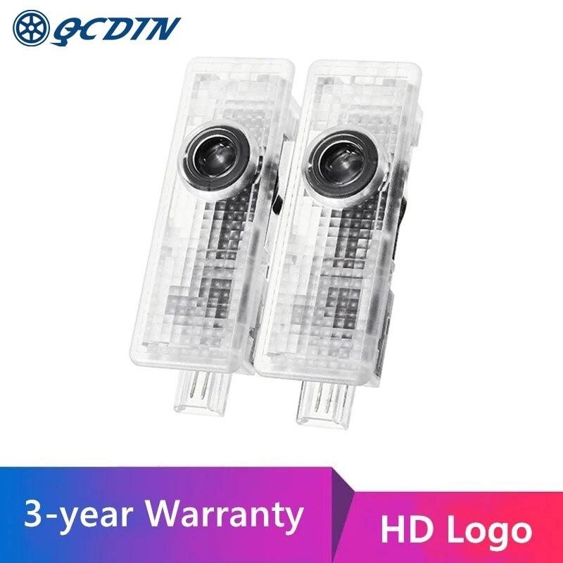 Купить светодиодный светильник qcdin hd для двери автомобиля с логотипом