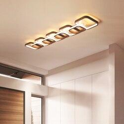 Kolor kawy wykończenie nowoczesny żyrandol sufitowy LED sypialnia korytarz alejek balkon home decoration110 220V oprawy żyrandolowe
