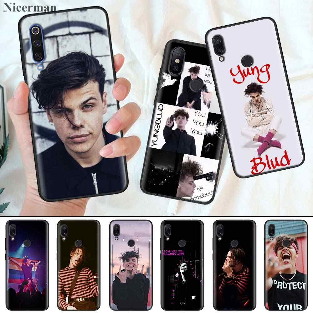 Silicone Coque Cover for Redmi 7 7A 6 6A K20 K30 5G Pro Note 8 7 7S 6 Case Yungblud