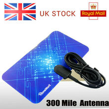 лучшая цена Indoor 300 Miles Antenna TV  Freeview  Digital HD Skywire HDTV 1080p Sky Link 4K 16ft Cable