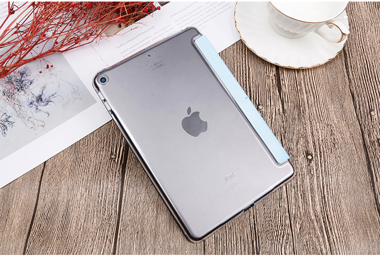 Stand leather QIJUN 8th For iPad Case PU Gen iPad For inch 10.2 Flip 2020 Painted Cover