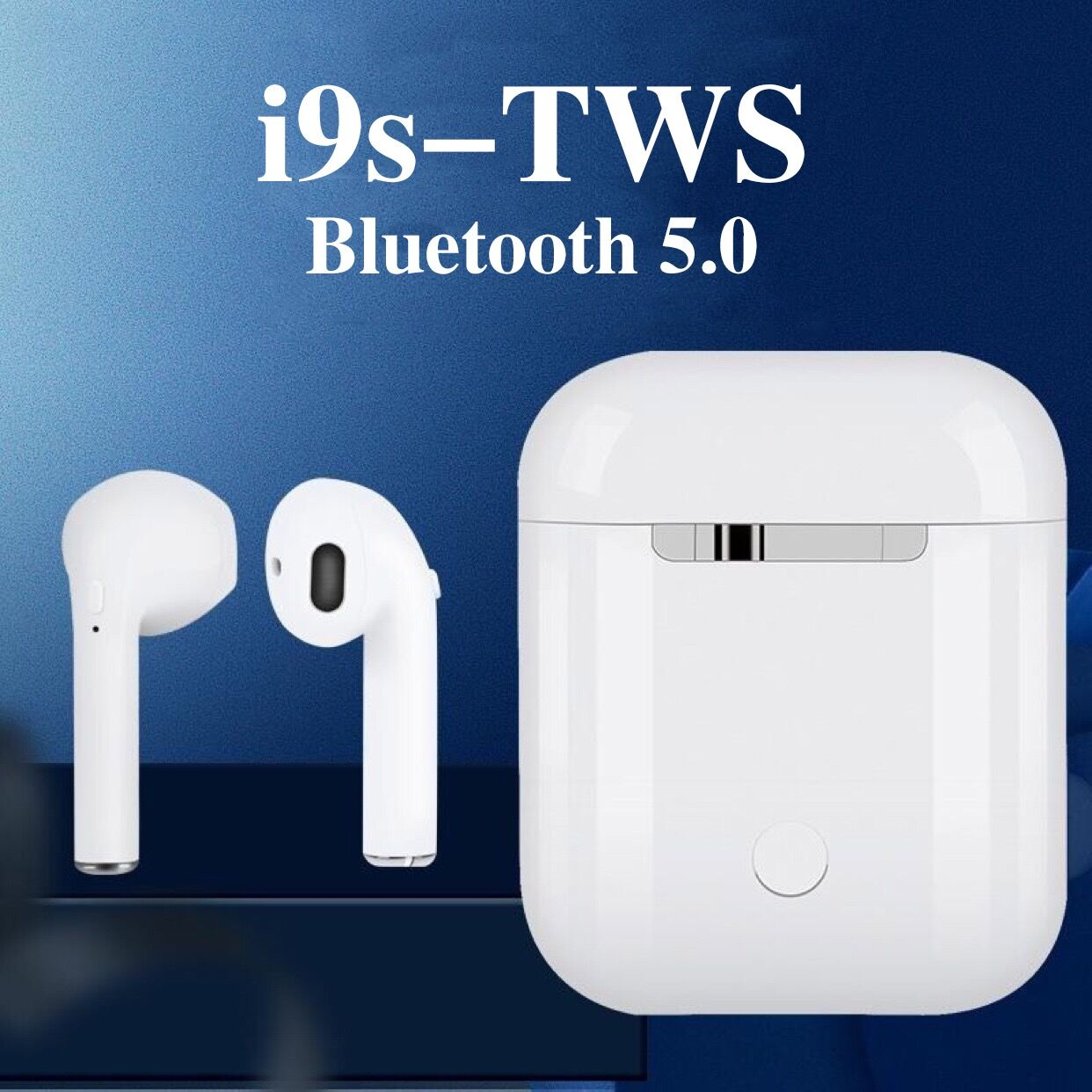 Hot Sell  I9s TWS Mini Wireless Bluetooth Earphone  I7s I10 I12 Stereo Earbud Headset With Charging Box Mic For All Smart Phone