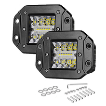 "цена на Led Bar 5"" 48W Work Light 12v Spot Flood Light for Off Road ATV UTV UAZ 4x4 car led ramp Auto Driving Fog Light ledbar 24V Beams"