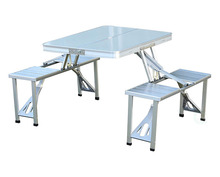 Outdoor Folding Camping Table Chair Picnic Table Aluminium Alloy Waterproof Ultra-light Durable PortableTable Seat стол для пик