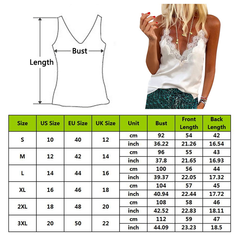 2019 Women Lace Slip Tank Tops casual Female Sexy vest Strap Tops Summer Ladies Sleeveless Black White V neck Camis Camisole in Tank Tops from Women 39 s Clothing