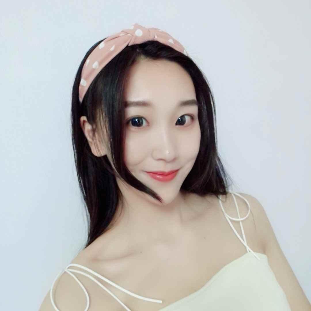 1Pcs Wave Titik Ikat Kepala untuk Wanita Anak Perempuan Dot Cross Sorban Hiasan Kepala Mandi Makeup Hairband Aksesoris Bulat Bandana Rambut Band