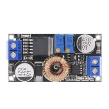 Originele XL4015 E1 5A Dc Naar Dc Cc Cv Lithium Batterij Step Down Opladen Board Led Power Converter Lithium Lader module(China)