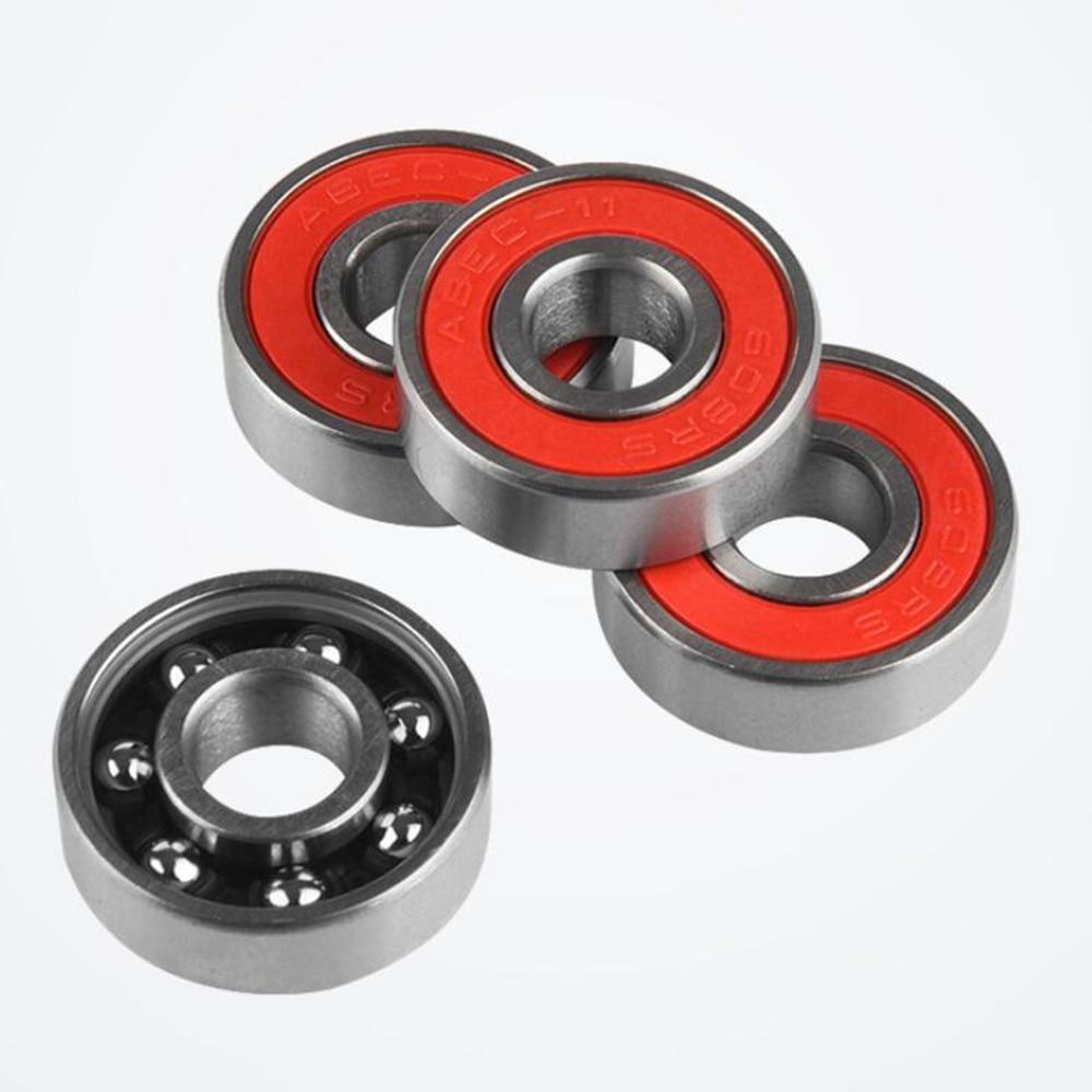 8Pcs ABEC-11 Roller Skate Wheel Bearings 8mm Inner Diameter High Speed Skateboard Scooter Bearing