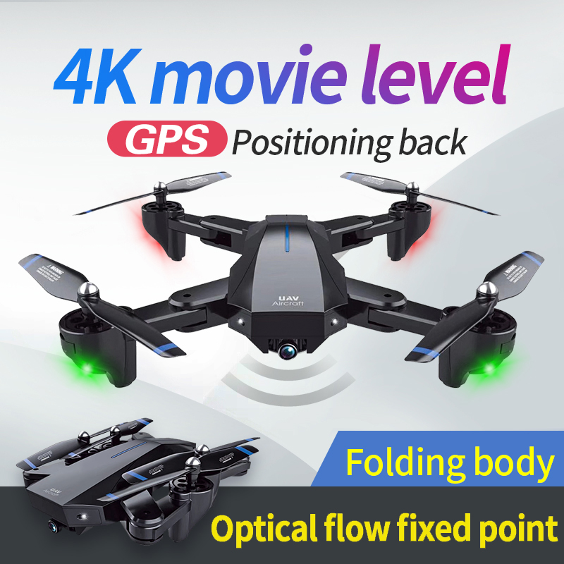 XFor-S9 R/C quadcopter drone with 4K camera and GPS 5G Wifi video live long battery life 20 mins 1
