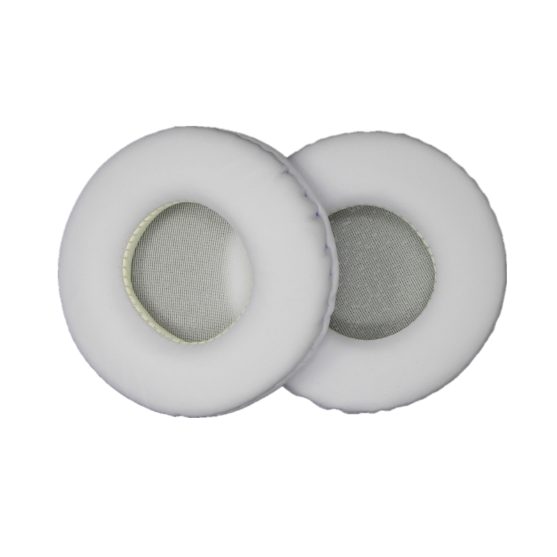 Soft PU Earpad 50MM-110MM Foam Ear Pads 60mm 70mm Cushions For Sony For AKG For Sennheiser For ATH For Philips Headphones White