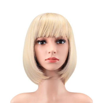houyan sbaseball hat straight hair heat resistant fiber wig synthetic short heat resistant fiber cut short wig HAIRJOY Women Black Brown Pink Blue Short Straight Synthetic Hair Wig Heat Resistant Fiber 11 Colors Available