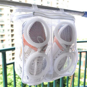 Shoe-Organizer Shoes Wash-Bag Sports-Sneaker Laundry-Mesh Trainer Tennis-Boots