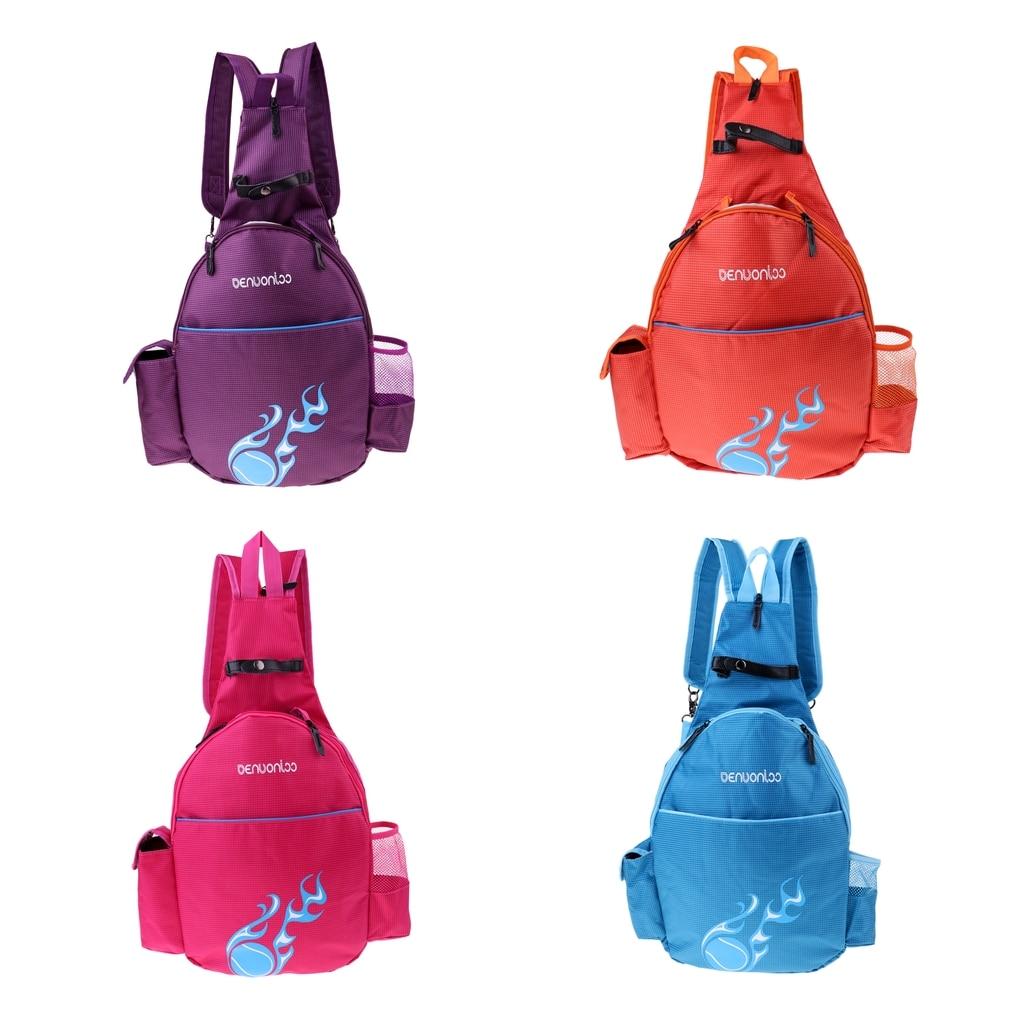 Waterproof Tennis Racket Backpack Badminton Rucksack Shoulder Bag With Adjustable Strap For Indoor/Outdoor Sport Camping Hiking