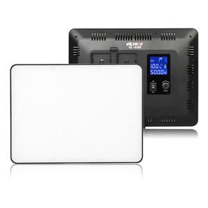 "Image 2 - VILROX 3pcs VL 200T Bi color Dimmable Wireless remote LED Video Light Panel Lighting Kit+75"" Light Stand for studio shooting"