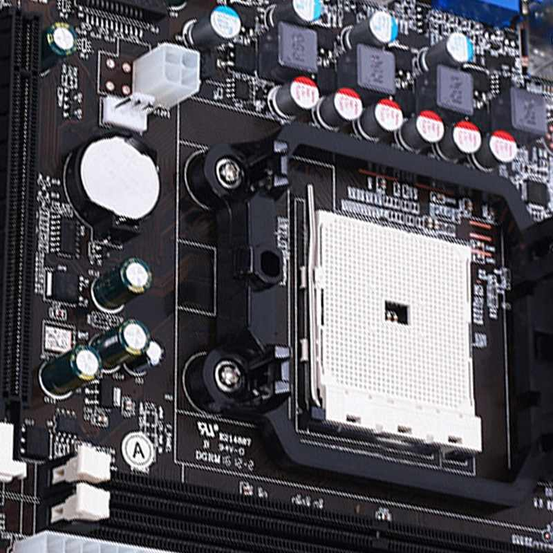 Ga-A55-S3P اللوحة الرئيسية الجديدة Ddr3 Dimm سطح المكتب لوحات A55 A75 S3P وحدة المعالجة المركزية المقبس Fm1 Hdmi R20