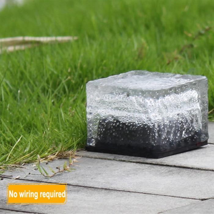 dwaterproof água gelo cubo rochas para caminho ao ar livre estrada quadrado