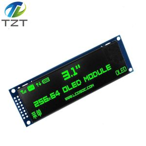 """Image 2 - TZT Real OLED Display  3.12"""" 256*64 25664 Dots Graphic LCD Module Display Screen LCM Screen SSD1322 Controller Support SPI"""