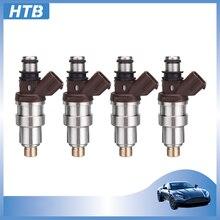 4x 23250-75050 nuevo inyector de combustible boquilla para TOYOTA PRADO J90 HILUX RZN HIACE RCH 3RZ-FE 2.7L 23209-79095 de 2325075050