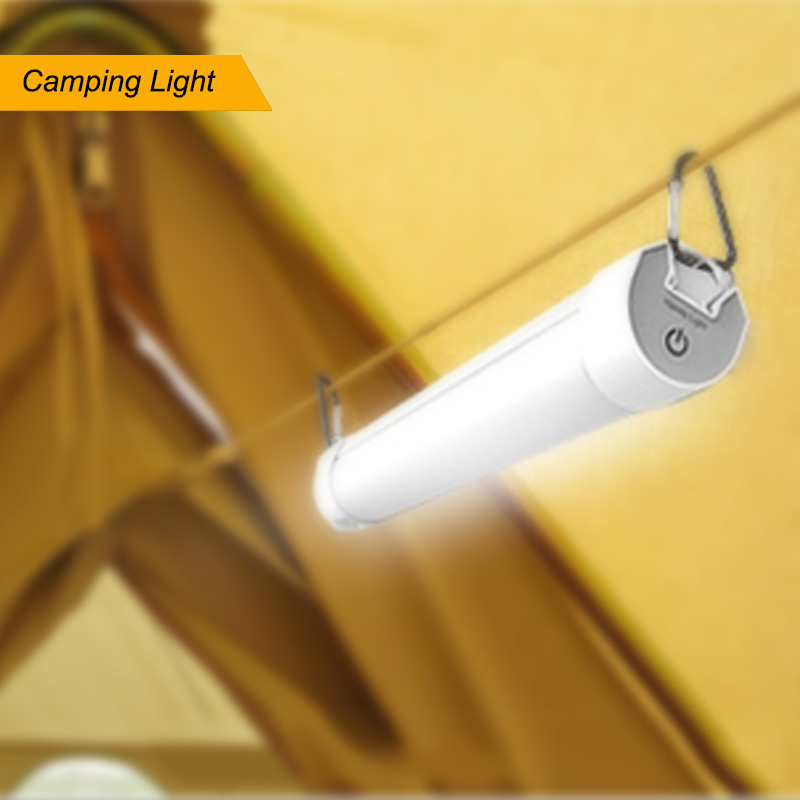 Strong Magnet LED Camping Light LED Emergency Light 2W 18650 Battery Rechargeable Lamp Outdoor Camping Lantern Fishing Lights
