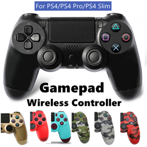 Wirelsss Gamepad Controller For PS4 Bluetooth Gamepad For Playstation 4/4 pro/4 slim Console Controller For Dualshock 4 Gamepads