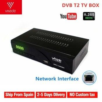 New K6 DVB-T2 DVB-T Satellite Receiver HD Digital TV Tuner Receptor MPEG4 DVB T2 H.265 Terrestrial TV Receiver DVB T Set Top Box original satlink ws 6936 dvb s digital satellite dvb s