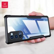Para oppo reno 4 pro 5g capa, xundd airbag caso, para oppo reno 4 5g caso, transparente à prova de choque equipado pára-choques capa de telefone