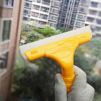 цена на Rubber Blade Window Washer Squeegee Plastic Handle B03