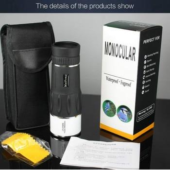 Pequeño teléfono móvil Cámara telescopio Monocular 35x95 Gran Aumento HD baja visión nocturna al aire libre mirilla gafas Mini