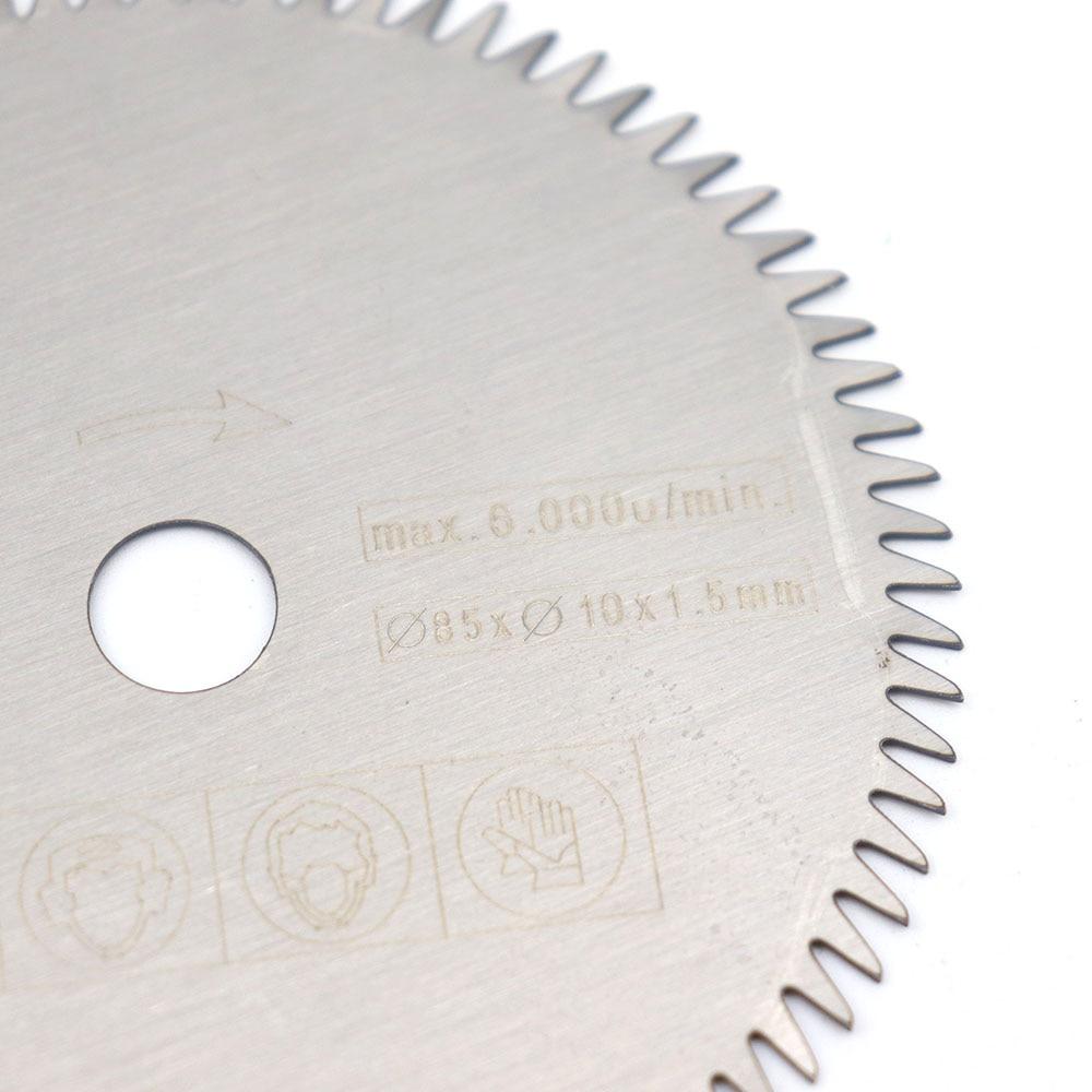 85mm Carbide Circular Saw Blade Cutting Disc Wood Cutting Wheel Multi-functional Grinding Tool