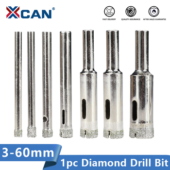 XCAN Diamond Coated Drill Bit 3-60mm Core for Tile Marble Glass Ceramic Hole Saw - discount item  50% OFF Drill Bit