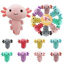 Axolotl Plush Toy Kawaii Animal Axolotl Plushies Figure Doll Toy Cartoon Pink Axolotl Stuffed Doll 20cm Gifts For Kids Girls