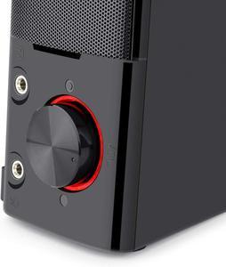 Image 5 - Redragon GS550 Orpheus gry komputerowe głośniki, 2.0 kanałowy stereofoniczny komputer stacjonarny Sound Bar z kompaktowym zwrotnym rozmiarem