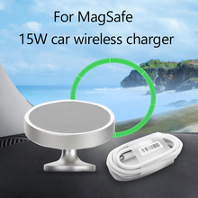 For MagSafe 15W Magnetic Wireless Car Charger For iphone 12 /Pro/mini/promax Car Wireless Fast Charger Mobile Phone Holder