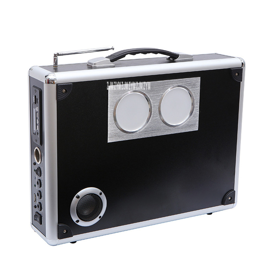 Suitcase Portable Solar Power Generation Home Outdoor Solar Generator System For Lighting Music Playing Electronics Charging